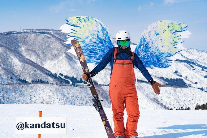 1 Day Ski Lift Ticket + Round Trip Bus from Tokyo
