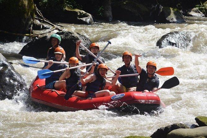 2 Hours River Rafting In Ubud