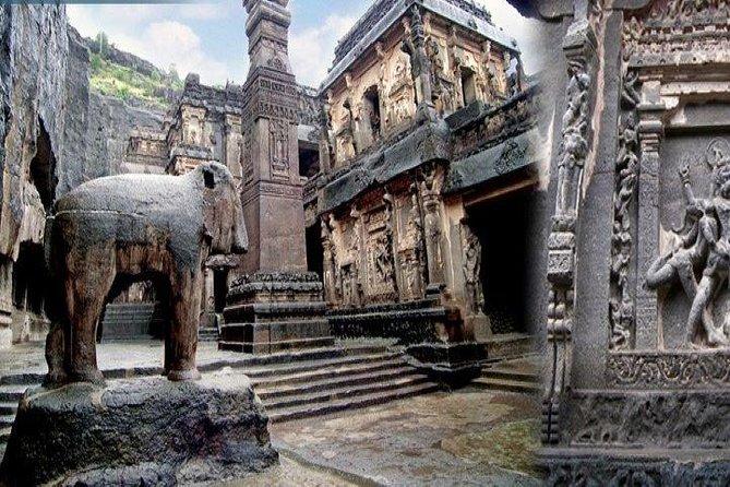 Private 3-Day Aurangabad Tour Including the Ajanta & Ellora Caves from Mumbai