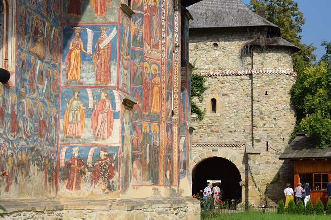 Painted monasteries of Bucovina (2 days, from Cluj)