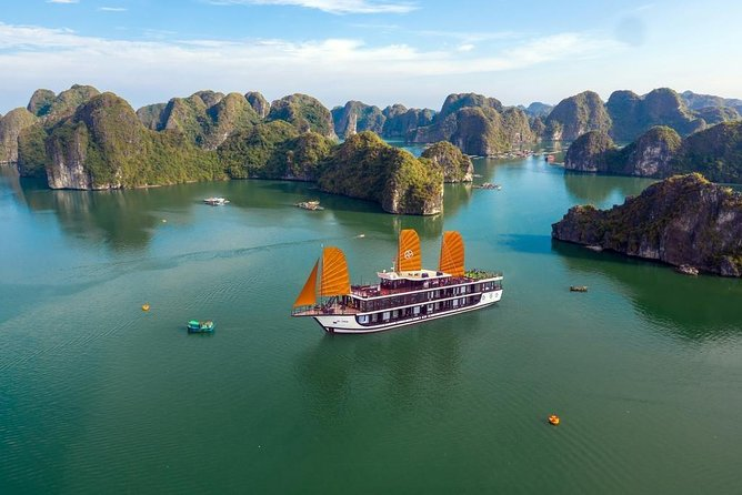 PEONY Cruise Luxury Tour - Discover Lan Ha Bay 2 Days 1 Night