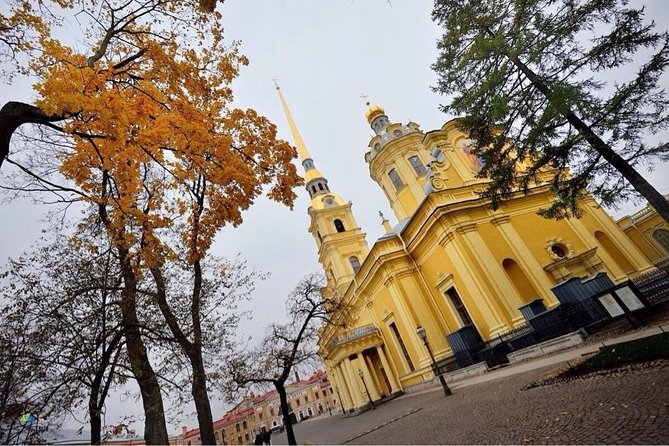 Petersburg City Tour with 3 major cathedrals Peter & Paul, Isaac & Spilled Blood