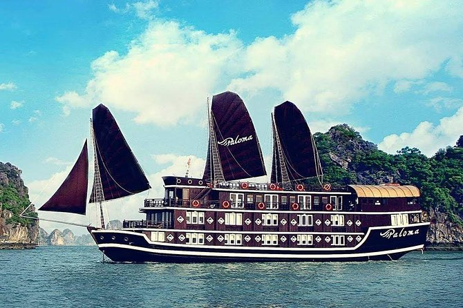 Paloma Cruise-Ha Long Bay and Bai Tu Long Bay 2 Days 1 Night