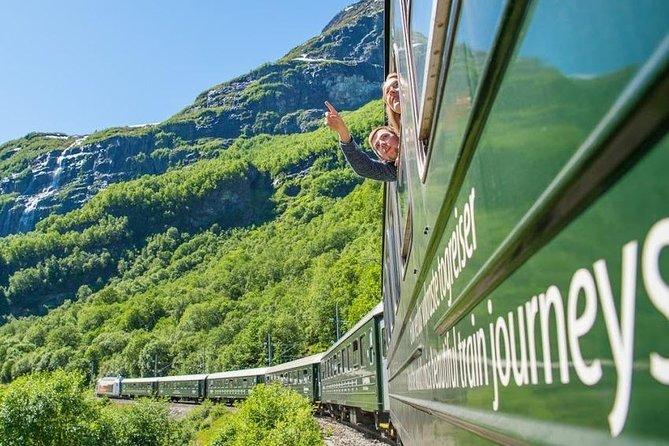 Day tour to Flåm - incl Premium Fjord Cruise, Flåm Railway and Bergen Railway