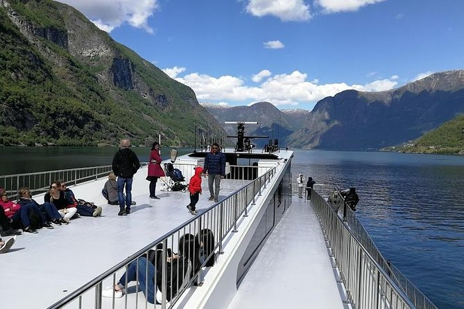 Guided day tour to Flam - incl Premium Nærøyfjord Cruise and Flåm Railway