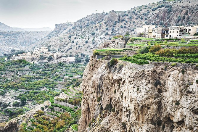 Al Jebel Akhdar (Green Mountains) & Nizwa Tours