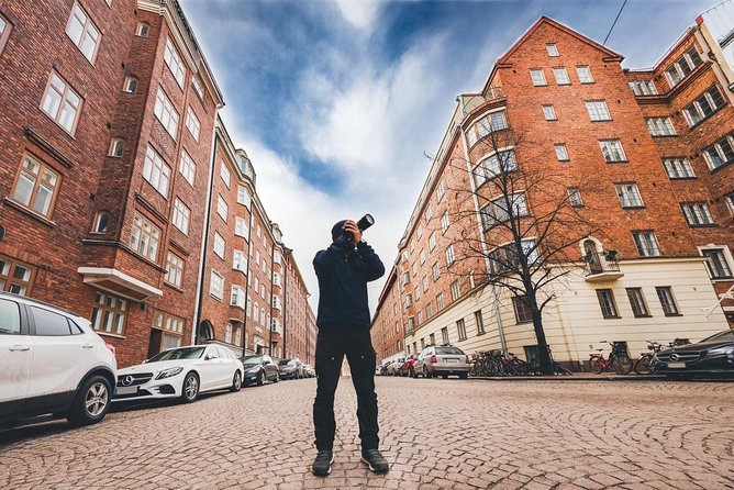 Helsinki Photowalk I The best way to explore Helsinki I Camera & Print included