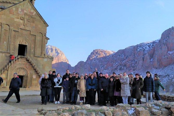 Group Tour: Khor Virap, Noravank, Hin Areni-wine tasting, Christmas master-class