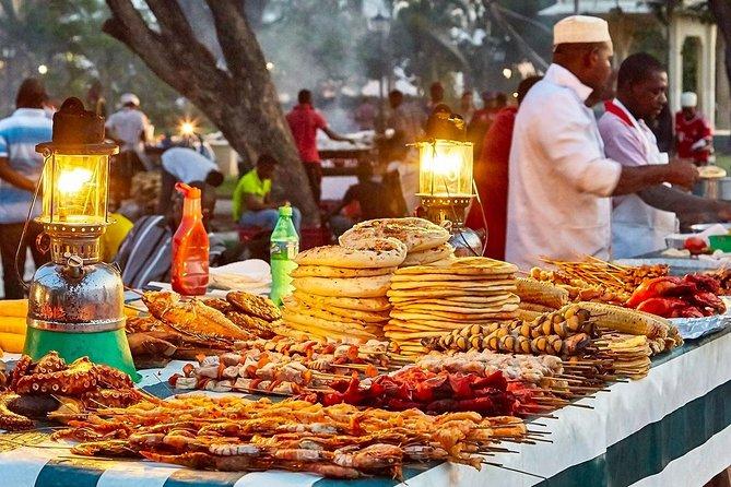 Zanzibar food tour in Stone town