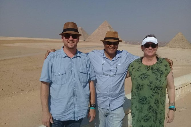 Pyramids , Great Sphinx, Museum and Khan Elkhalili - Private Tour from Cairo