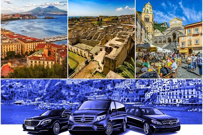 Transfer from Naples to Amalfi (or reverse) via Ercolano 2hr Sedan or Van photo 1