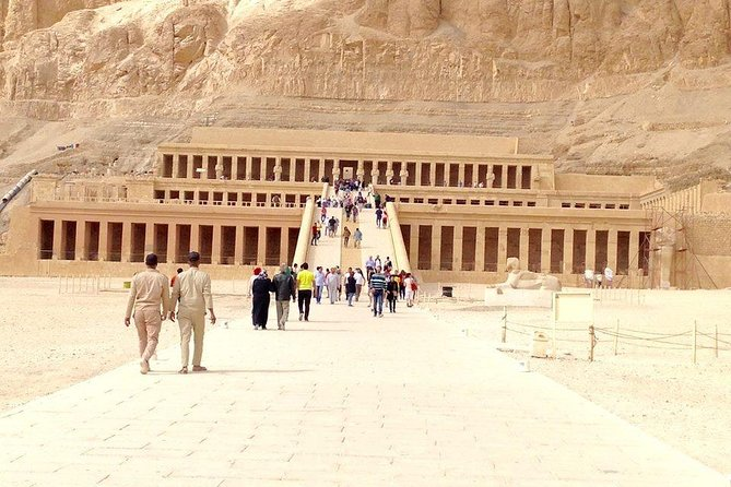 Tour to the Valley of the Kings, Hatshepsut Temple and, Colossi of Memnon