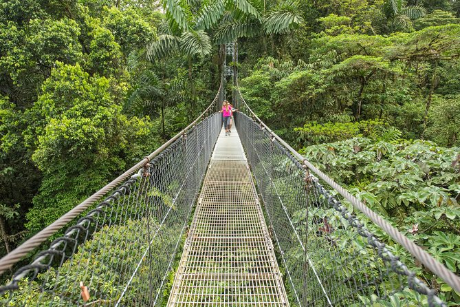 Hanging Bridges Walk in Arenal Volcano