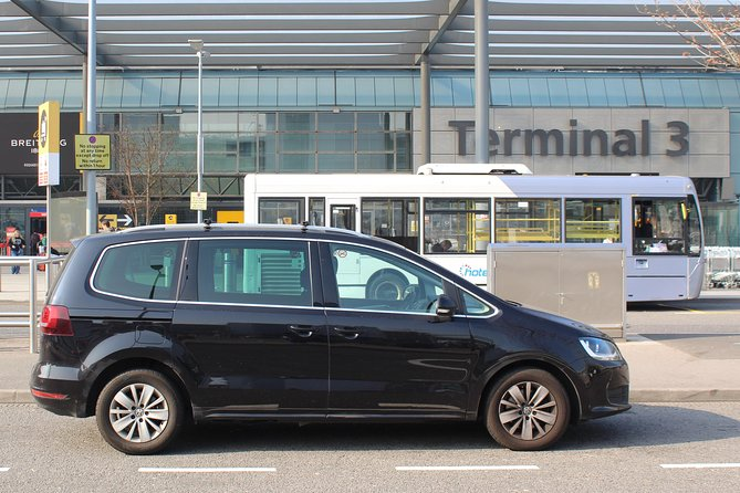 London Airport to Airport Private Transfer for Up to 4 Passengers
