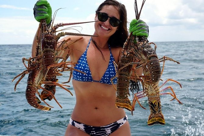 Punta Cana Intrepid Lobster Fishing and Eating Catamaran Excursion