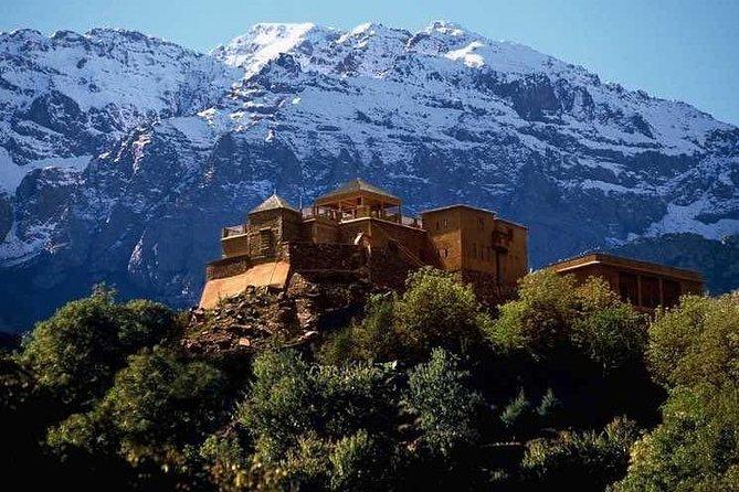 Atlas Mountains, Desert Agafay, Waterfalls and 3 Valleys - Marrakech Day Trip