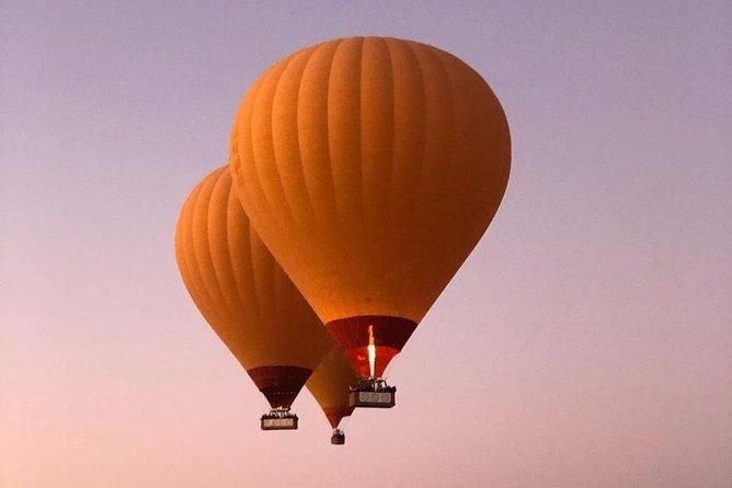 Hot air balloon excursion in Marrakech