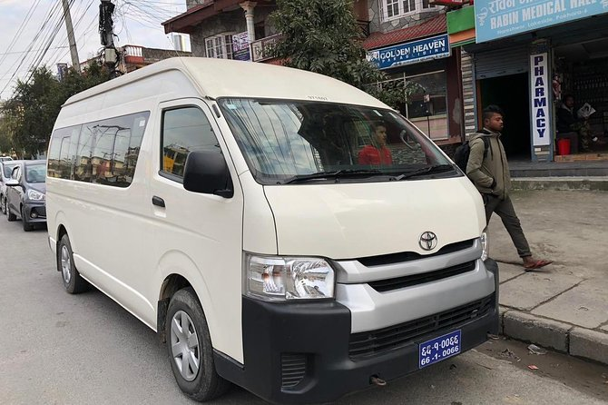 Pokhara Airport To Hotel in Lakeside Shuttle Service or Vv
