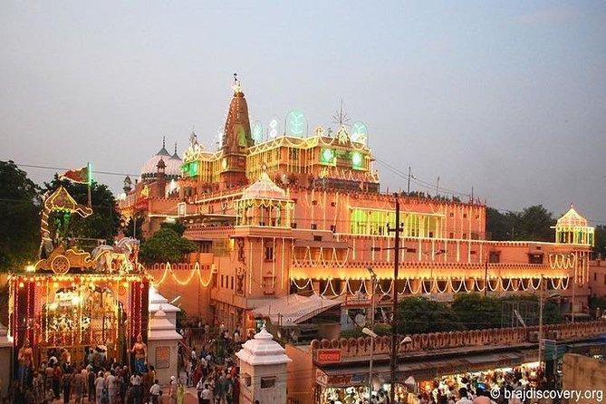 Same Day Mathura Vrindavan Tour from Delhi