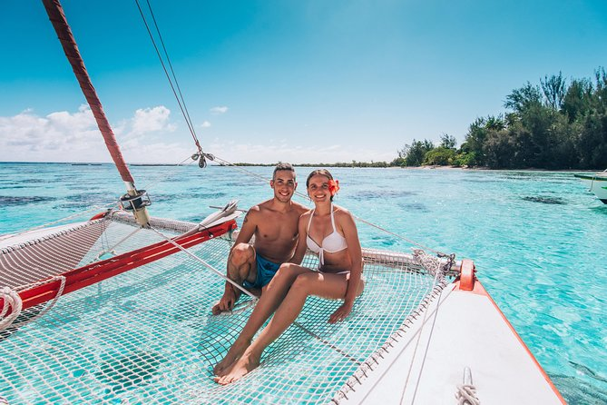 PRIVATE Half Day Tour : Moorea Snorkeling & Sailing on a Catamaran named Taboo