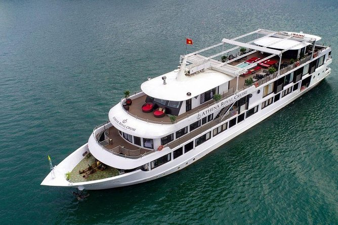Athena Royal Cruise - Bai Tu Long Bay 2 Days 1 Night Luxury Tour