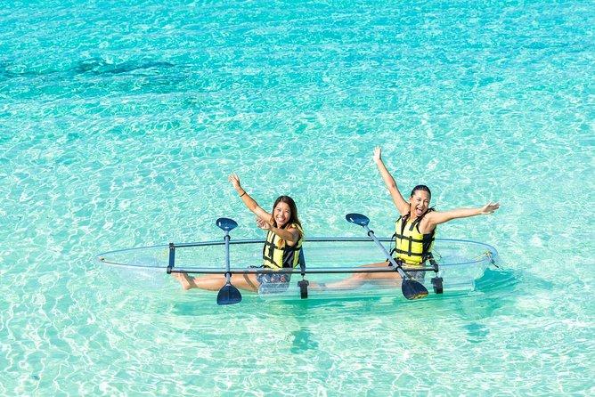 Miyakojima / clear kayak tour