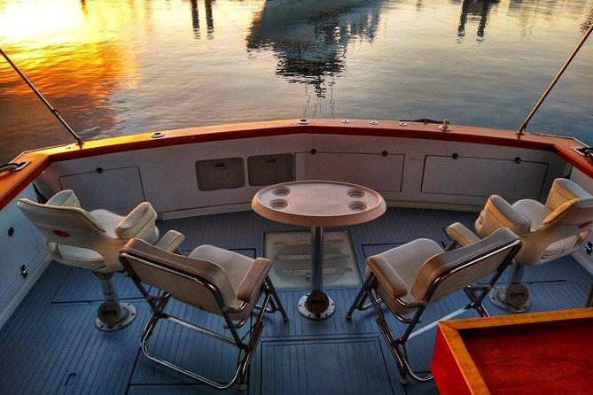 Atum em alto mar Offshore Private Party VIP Six Pack Carta de pesca esportiva