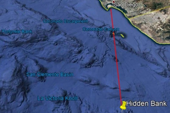 Offshore Deep Sea Sport Fishing Charter from San Diego