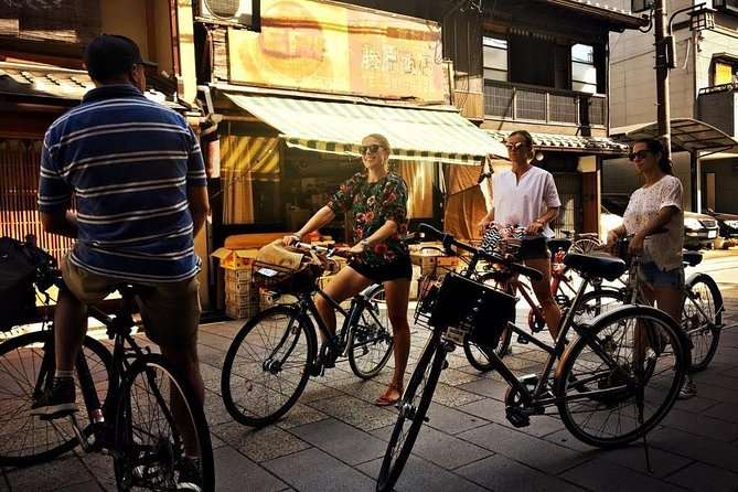 Discover the beauty of Kyoto on a bicycle tour!