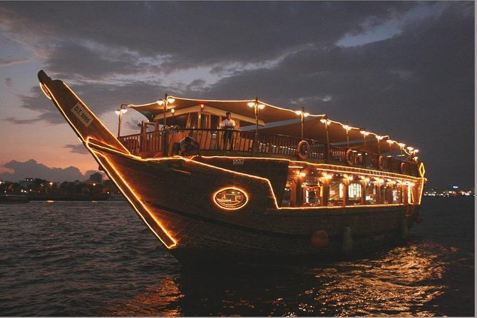 Dubai Creek Dhow Cruise Dinner (4 & 5 Stars)