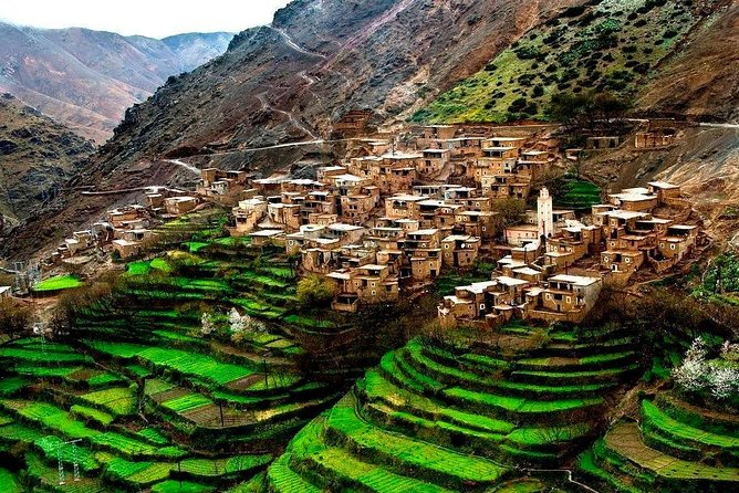 Small group Day trip from Marrakech to Ourika valley