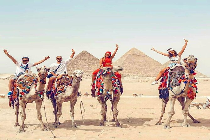 Giza Pyramids With Camel Ride And Egyptian Museum