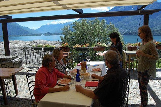 A panoramic wine tasting on lake Como