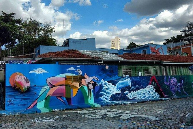 Street Art & Graffiti Sao Paulo 4-Hour Private Tour