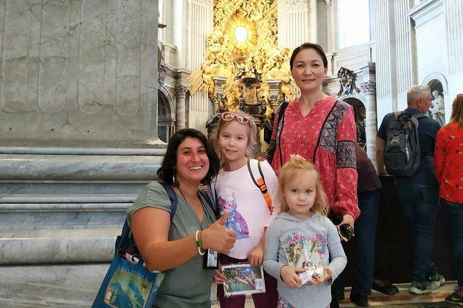 Semi-Private Vatican & Sistine Chapel Tour for Kids & Families incl. St. Peter's