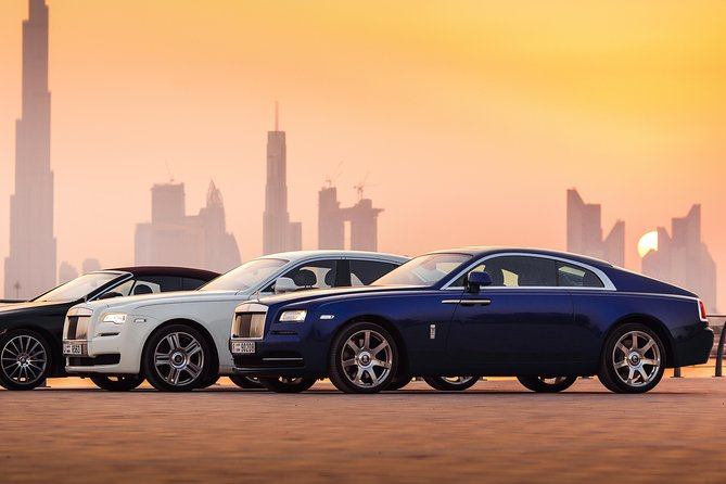 Dubai in Rolls Royce Dawn, sit behind the wheels of the most luxurious cars. photo 10