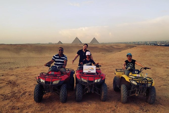 Desert Safari Around The Pyramids on a Quad Bike