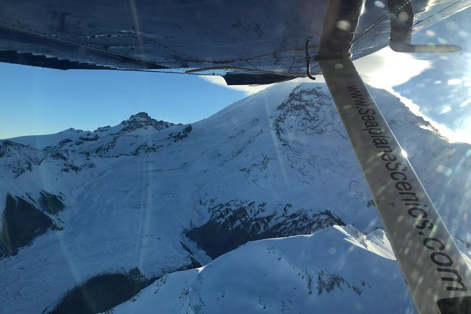 North Face of Mt Rainier and the Carbon Glacier
