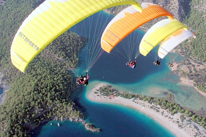Once-in-a-lifetime Experience: Paragliding from Fethiye