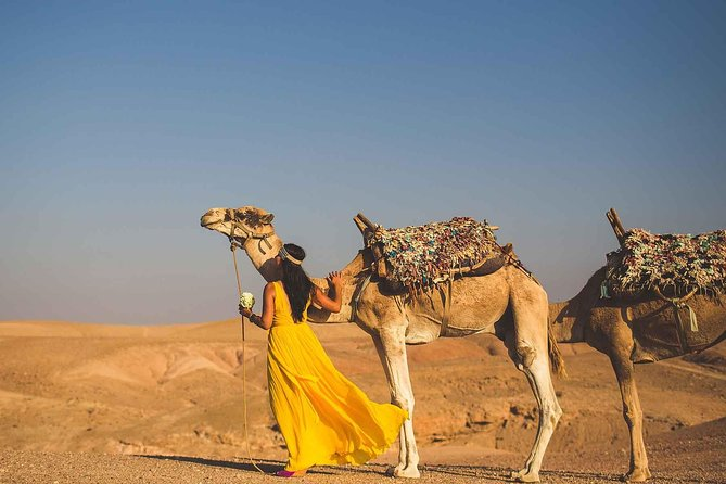 Desert Tour: Full Day Trip from Marrakech & Atlas Mountains with Camel Ride