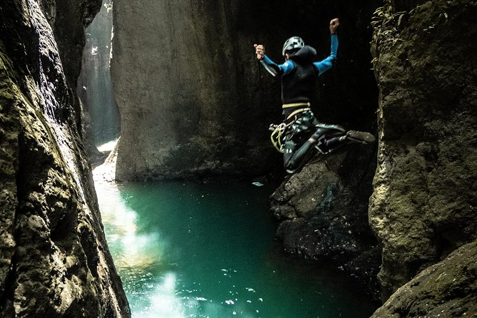 Ultimate canyoning trip in Bali Aling canyon