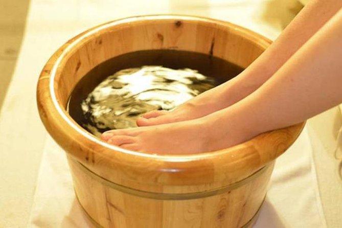 Herbal foot bath
