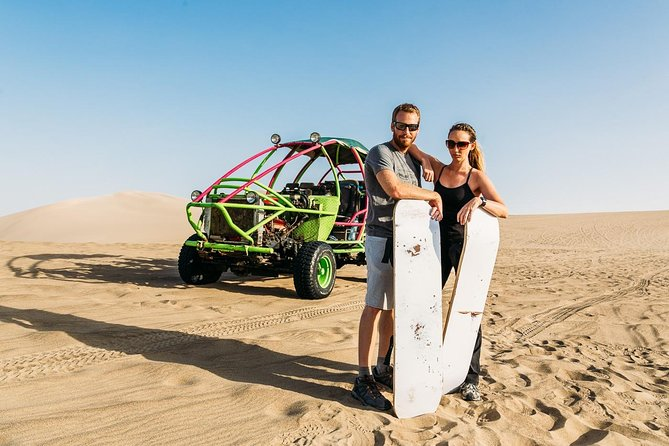 Wine, Pisco and Dune Buggy Experience