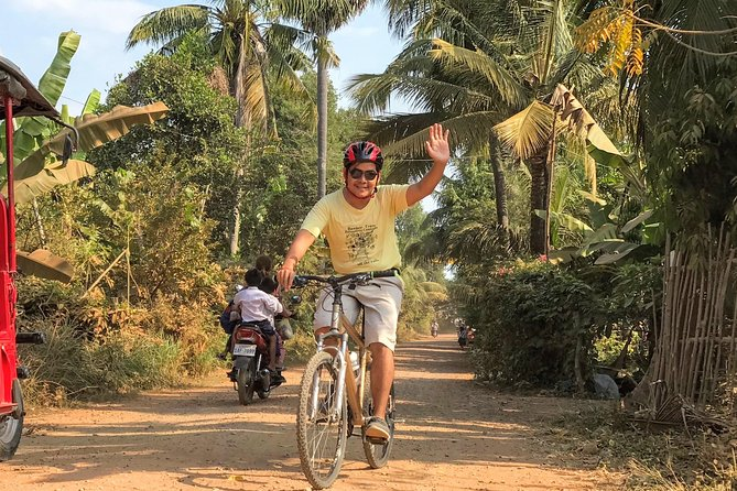 Siem Reap Countryside Bicycle Tour 4 hours