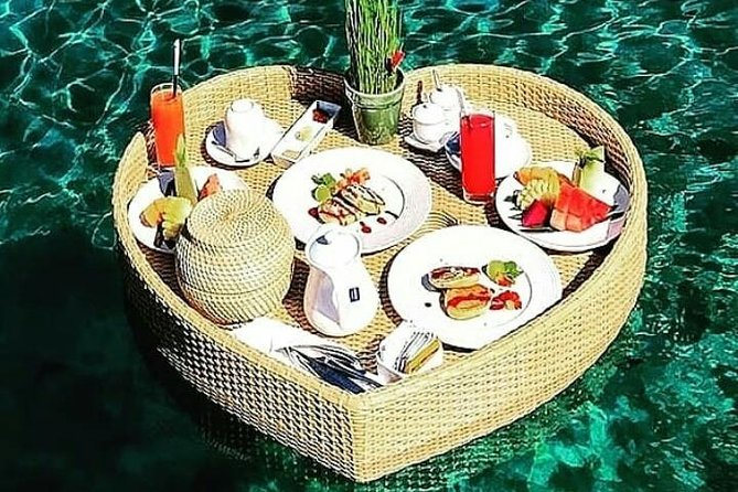 Bali romantic floating breakfast - jungle swing - SPA treatment