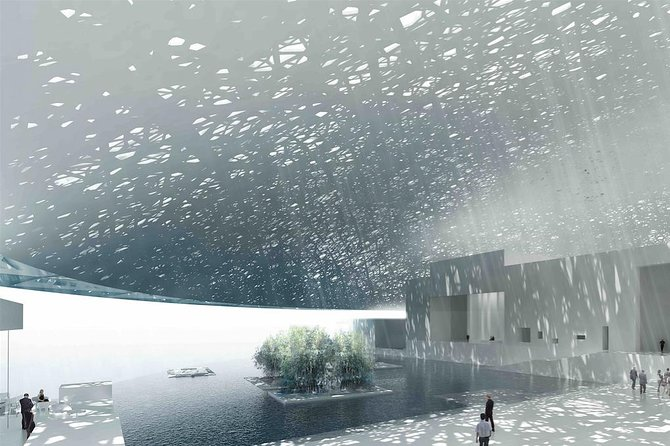 Louvre Tour - Abu Dhabi, an Arabic-Galactic Wonder photo 2