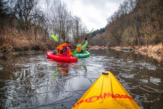 Iron curtain / green ribbon kayak tour