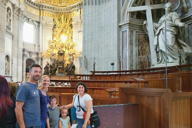 Kid-Friendly Small Group Vatican Museums, Sistine Chapel & St Peter's Tour