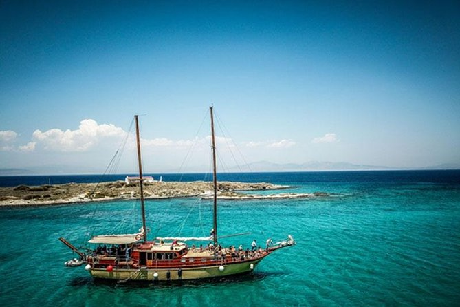 Day cruise from Athens to Aegina on a traditional wooden gulet
