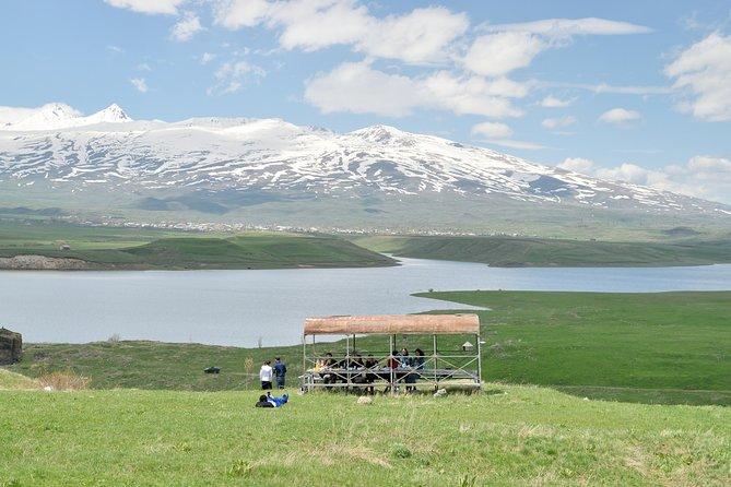 Aparan Reservior I Aghavno Peak | Tukh Manouk and Saint Paul and Peter Churches